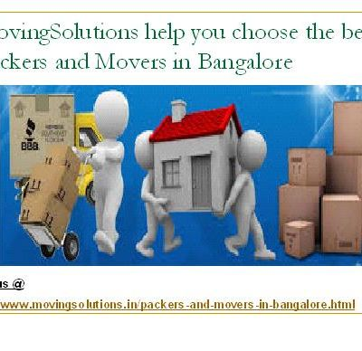 What Services Licensed Packers and Movers in Bangalore Present?