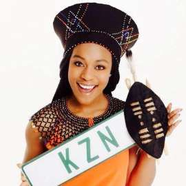 Nomzamo Mbatha was engaged once