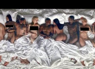 Kanye West has challenged those featured in his 'Famous' video to...