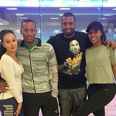 Itu Khune and his bae Sbahle Mpisane are known to be fitness addi...
