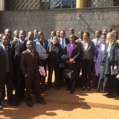 More than 100 Lawyers stand up for Zimbabwe's protesting pastor