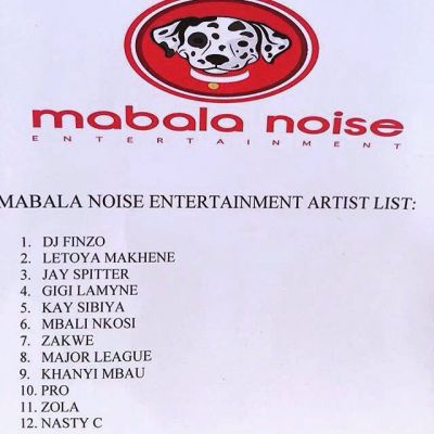 Since Mabala Noise record label is in the spotlight….these are th...