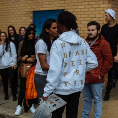 Mass Turn up at Kanye West's 'Life of Pablo' Pop-Up Shop in Cape ...