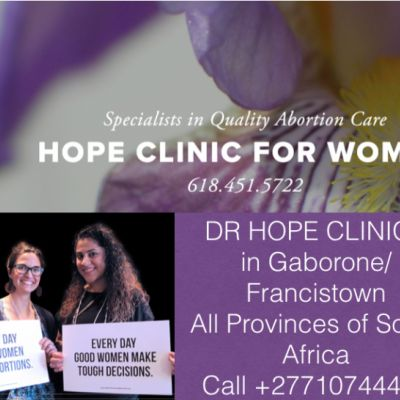 HEALTH SERVICES 0710744449 DR HOPE ABORTION CLINIC In PIET RETIEF...