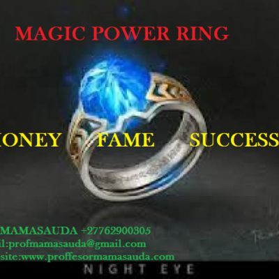 Magic Ring For MONEY SUCCESS LOVE AND POWER USA UK Nigeria Swazil...