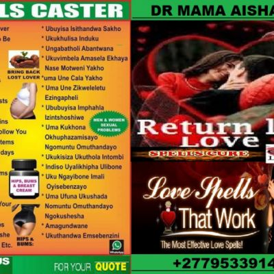 POWERFUL LOST LOVE SPELLS AND TRADITIONAL HEALINIG (0795339144) D...