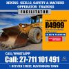 front end loader training in namibia, rustenburg +27711101491