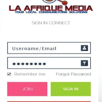 La Afrique Media Mobile App